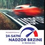 Pojačani 24-satni nadzor brzine