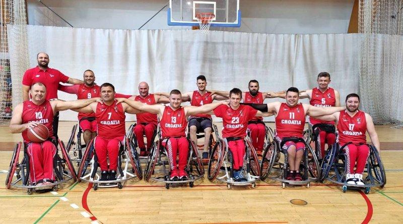 Hrvatska košarkaška reprezentacija u kolicima na samom vrhu europskog sporta