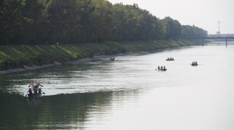 12 . natjecanje u ekipnom veslanju dravskim čamcima u Donjoj Dubravi