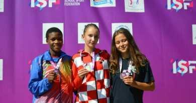 Nevia Fotak iz II. osnovne škole Čakovec u Beogradu postala svjetska prvakinja na 200m
