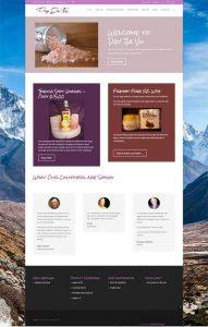Day Ja Vue Website screenshot