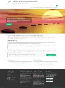 ABEF website screenshot