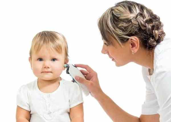 Ohrthermometer bei Kindern