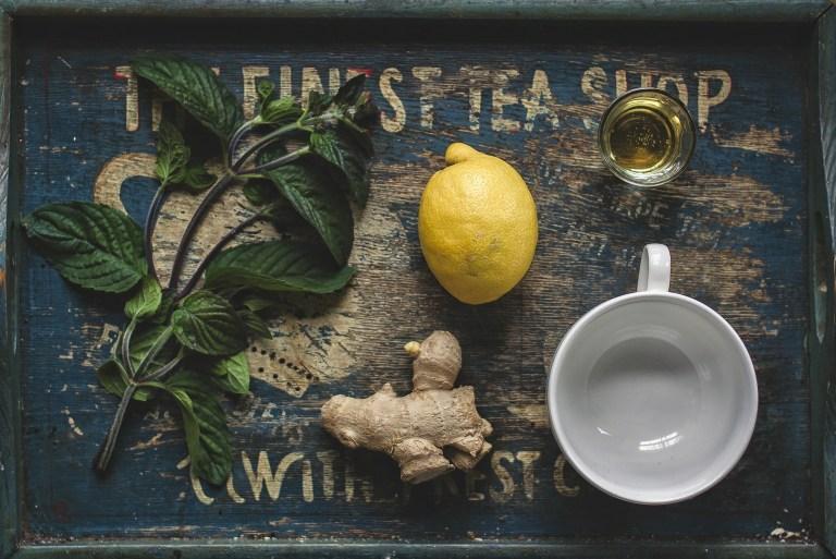 Mittel gegen Reizhusten Tee Ingwer Honig