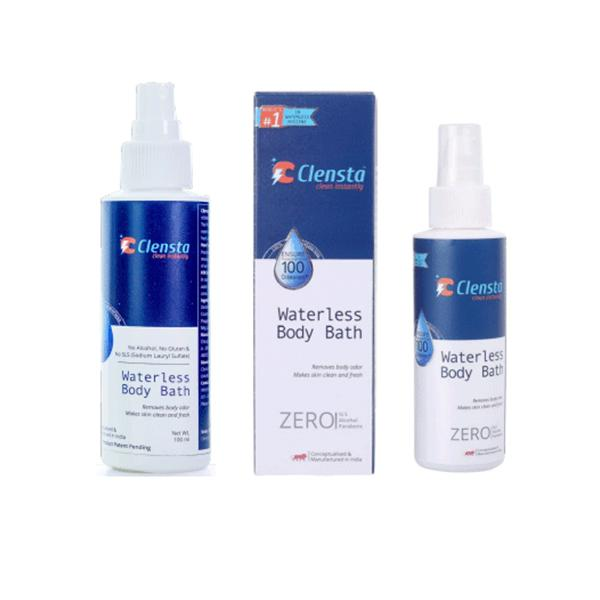 Antiseptic Waterless Body Bath Spray for Patients