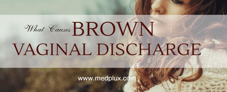 Vaginal Dark Brown Discharge or spotting