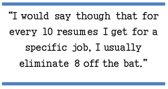8 out of 10 resumes get cut