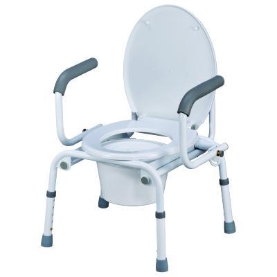 Кресло-туалет NOVA TN-408 (с опускающимися подлокотниками ...