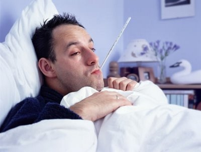 flu_man_sick_bed_thermometer_mouth_blue_rm