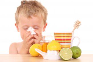 грипп и кашель у ребенка