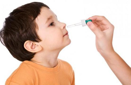 детские капли в нос от насморка