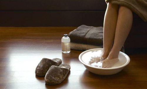 ножные ванны с горчицей