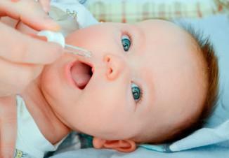 закапывание капель в нос малышей