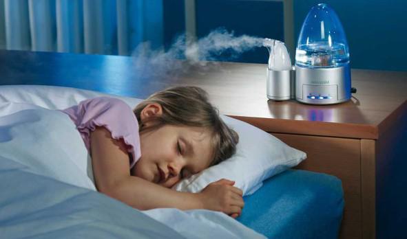 увлажнитель воздуха в комнате у ребёнка