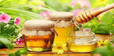 медовая лепешка от кашля мёд и мука
