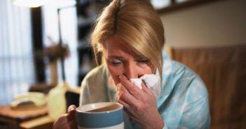 первые признаки простуды