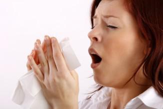 острый аллергический ринит