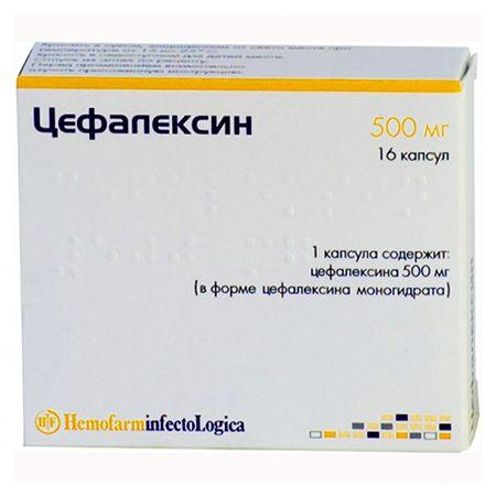 цефалексин антибиотик при бронхите