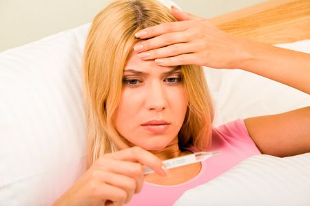 Повышение температуры тела при бронхите или пневмонии