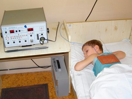 Физиотерапия для детей при бронхите