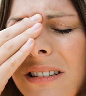 Фронтит часто выражен болевыми ощущениями