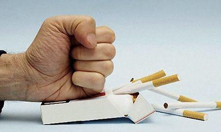лечение бронхита - отказ от курения