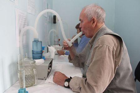 Процедура ингаляции при бронхите