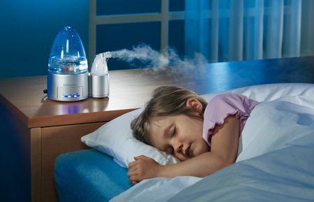 Увлажнитель воздуха для профилактики бронхита