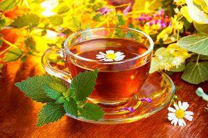 чашка с монастырским чаем