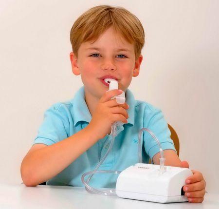 Ингаляции небулайзером при бронхите у детей