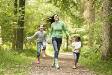 свежий воздух благотворно воздействует на организм