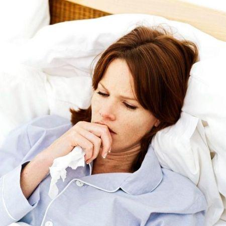 Фото проявления лихорадки при бронхите у взрослых