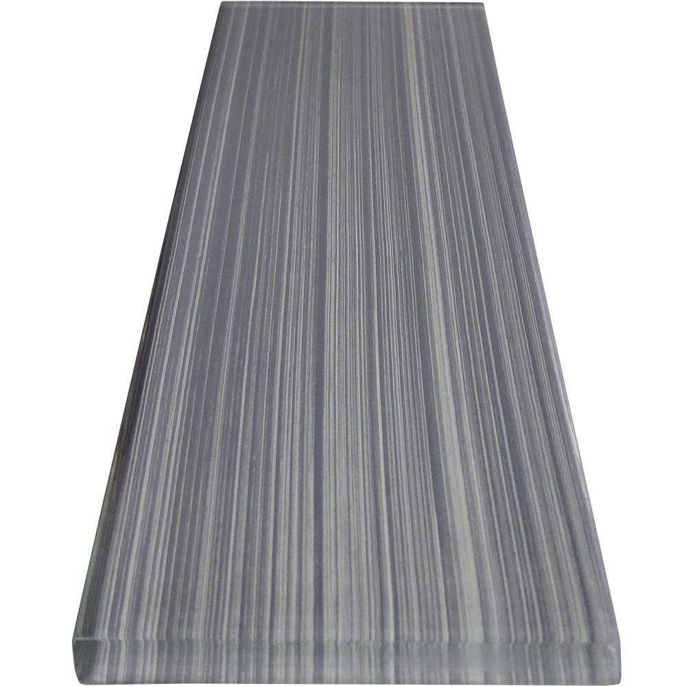 3x12 ocean bamboo grey glass tile