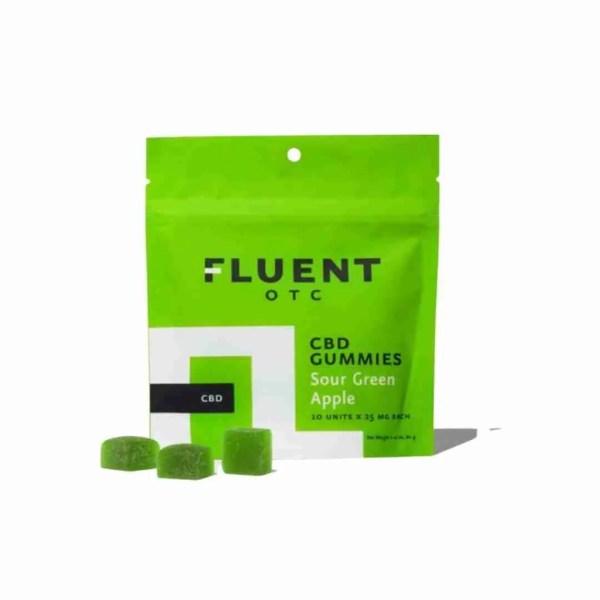 Sour Green Apple CBD Gummies - 25mg