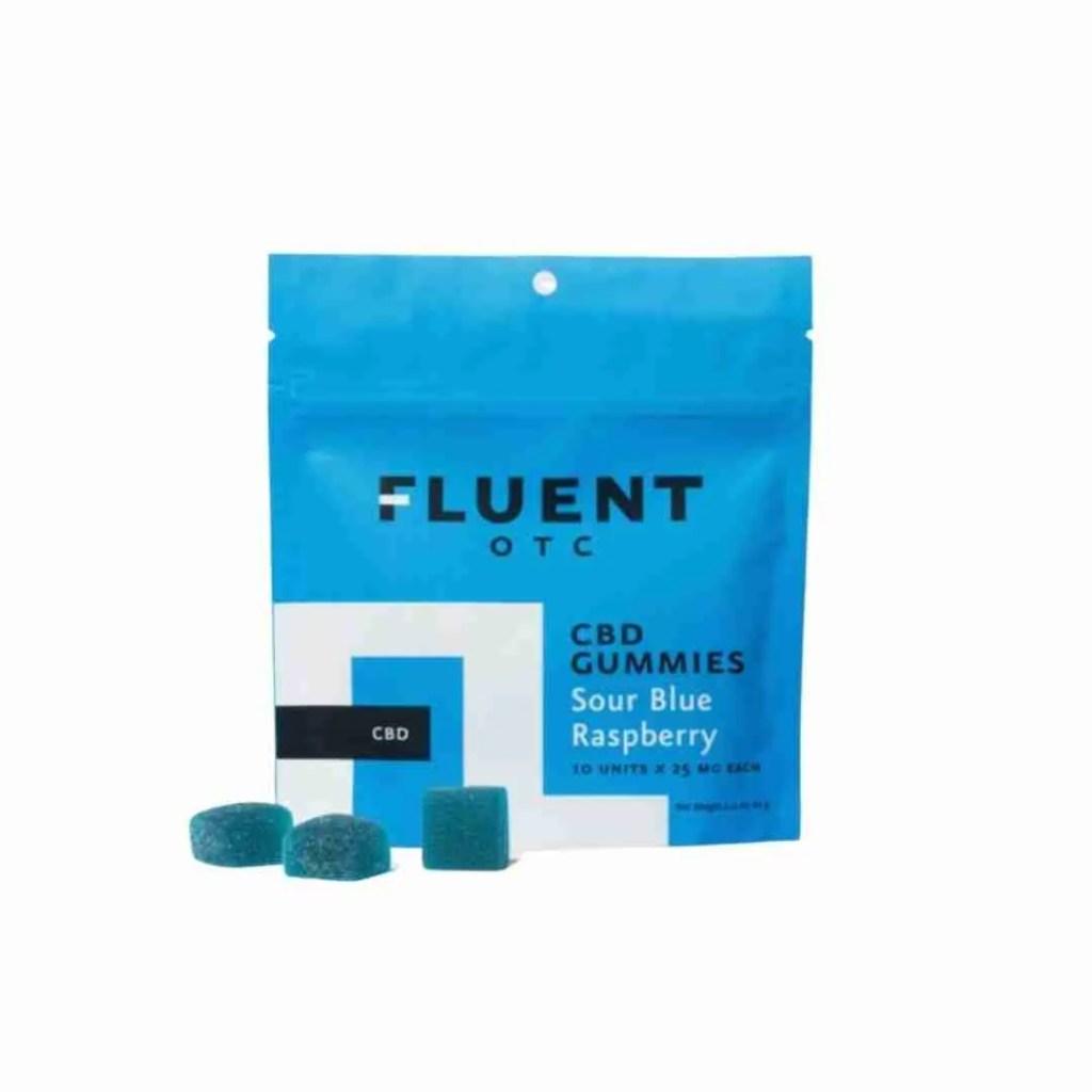 Sour Blue Raspberry CBD Gummies - 25mg
