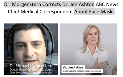 Doctor Corrects ABC News Chief Medical Correspondent Dr. Jen Ashton About Facemasks