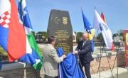 U Sisku otkriveno spomen-obilježje svim poginulim Bošnjacima braniteljima iz Domovinskog rata