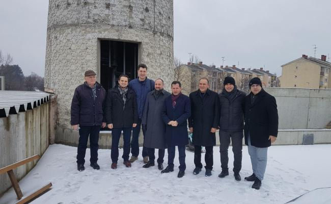 Zastupnici turskog parlamenta posjetili MIZ Sisak i gradilište IKC Sisak