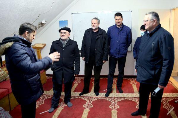 Muftija dr.Mevlud Dudić, predsjednik Mešihata IZ-e u Srbiji posjetio Medžlis Sisak