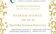 Kurban-bajram u utorak (20.07.2021.)