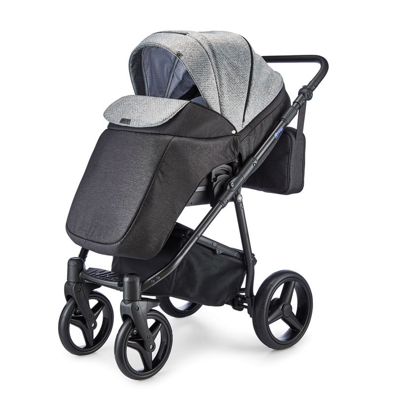 mee-go Santino Pepper Grey SU front facing