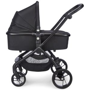 mee go Plumo Phantom Black Carrycot