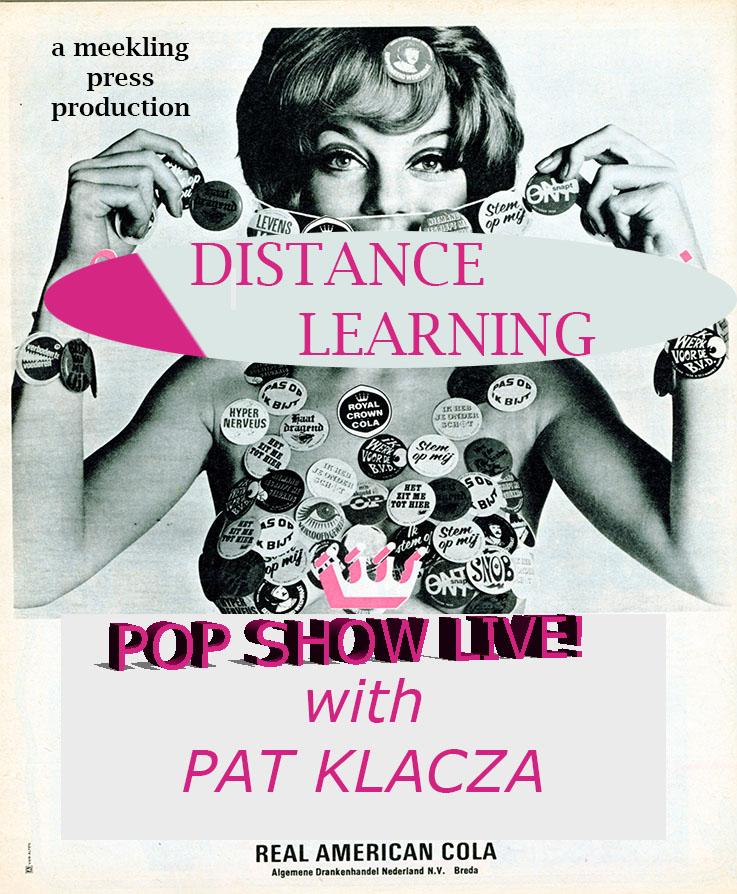 PAT's POP SHOW LIVE!!!
