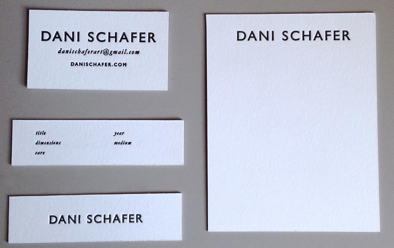 Dani Schafer, artist
