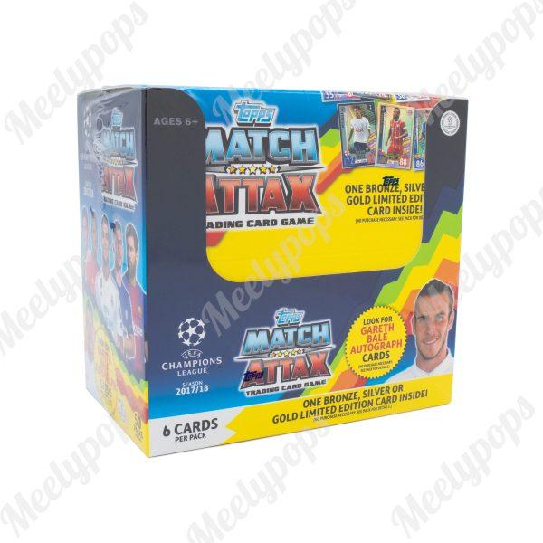2017-18 Topps Match Attax UEFA Champion League soccer box