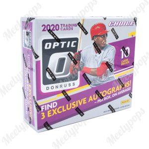 2020 Panini Donruss Optic Baseball Choice box