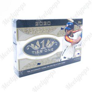 2020 Topps Tier One Baseball Box