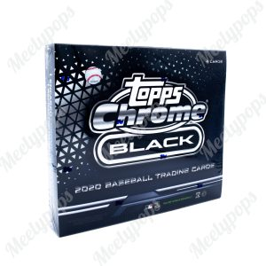 2020 Topps Chrome Black Baseball box