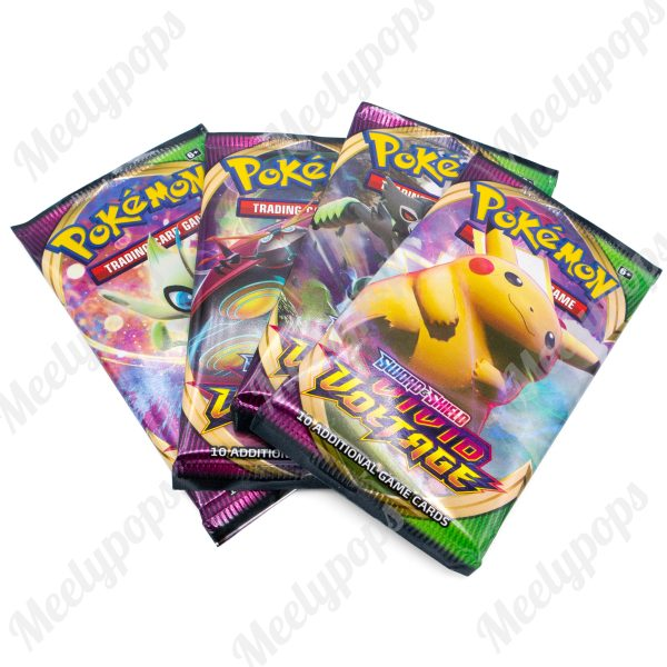 Pokemon Sword and Shield Vivid Voltage Lot of 4 Booster Box packs