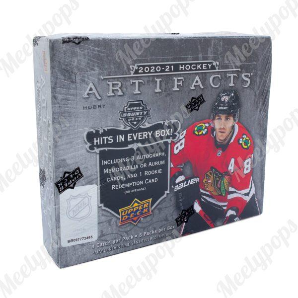 2020-21 Upper Deck Artifacts Hockey Box
